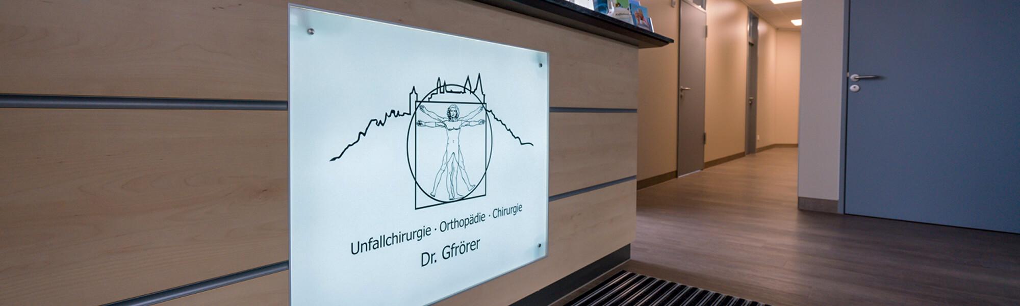 Unfallchirurg & Orthopäde Hechingen - Gfrörer - unsere Praxis am Obertorplatz