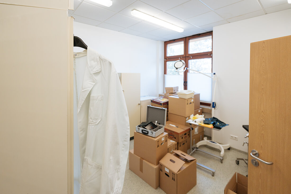 Unfallchirurg & Orthopäde Hechingen - Gfrörer - Umzug