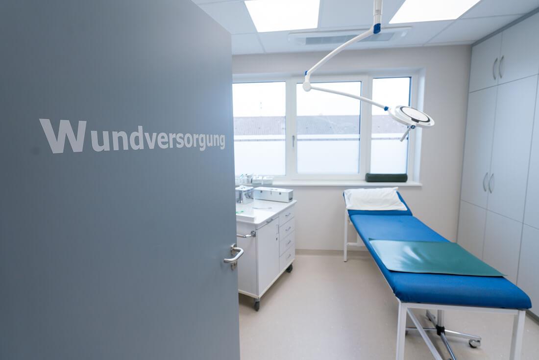 Unfallchirurg & Orthopäde Hechingen - Gfrörer - Arbeitsunfälle - Wundversorgung in der Praxis am Obertorplatz
